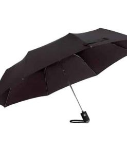 Automat svart paraply