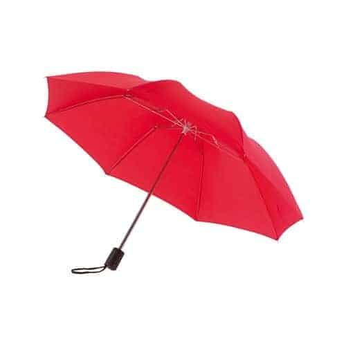 Billigt rött mini paraply
