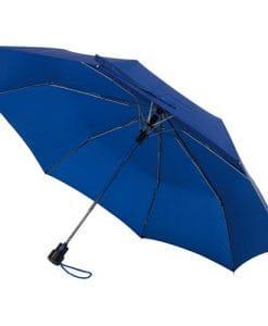 automatiskt navy blå paraply