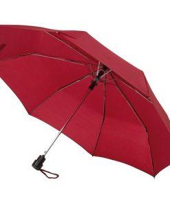 automatiskt rött paraply