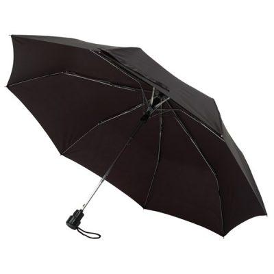 automatiskt svart paraply
