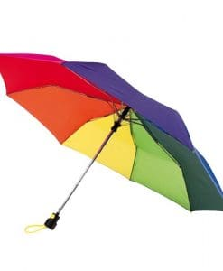 mångfärgat automat paraply