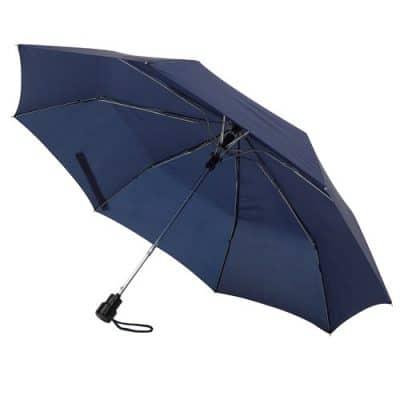 mini paraply mörkblått