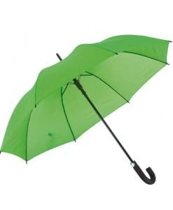 Ljusgrönt paraplyet