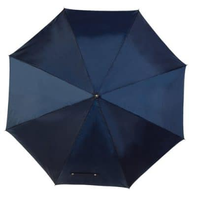 navy blå golfparaply