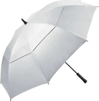stort silver golfparaplyet