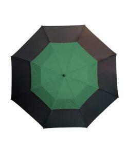 Stort grönt paraply