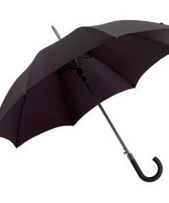 stort svart paraply