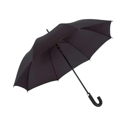 svarta exklusiva paraplyet