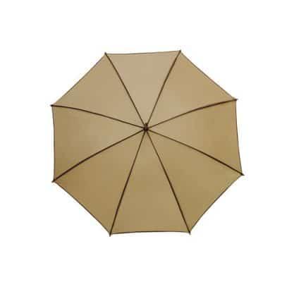 beige och brunt paraply