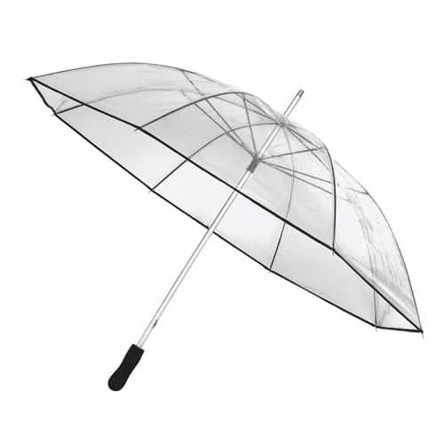 genomskinligt golf paraply