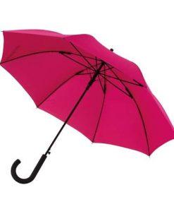 mörkrosa paraplyet