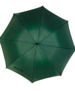 mörkt grönt golfparaply