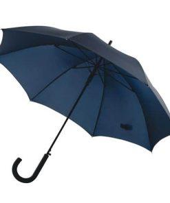 navy blått paraply