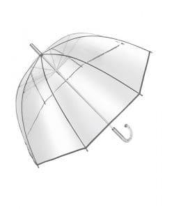 retro paraply transparent