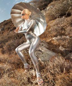 Silver paraplyet