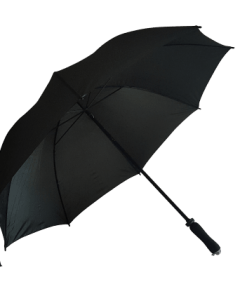 svarta golfparaplyet