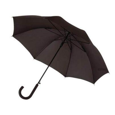 svarta paraplyet