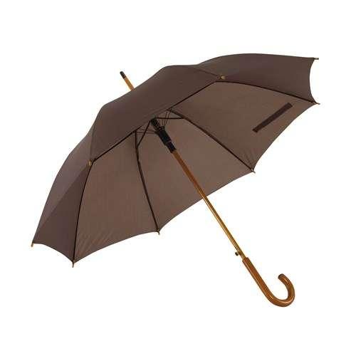 mörkbrunt paraply