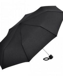 svart paraplyet