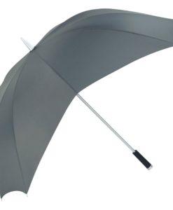 stort grått golfparaply