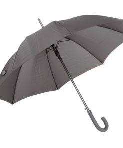 grått pinnparaply