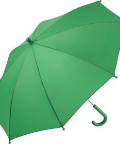 ljusgrönt barnparaply