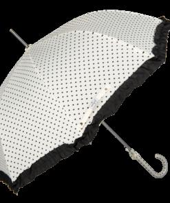 Vitt paraply retro